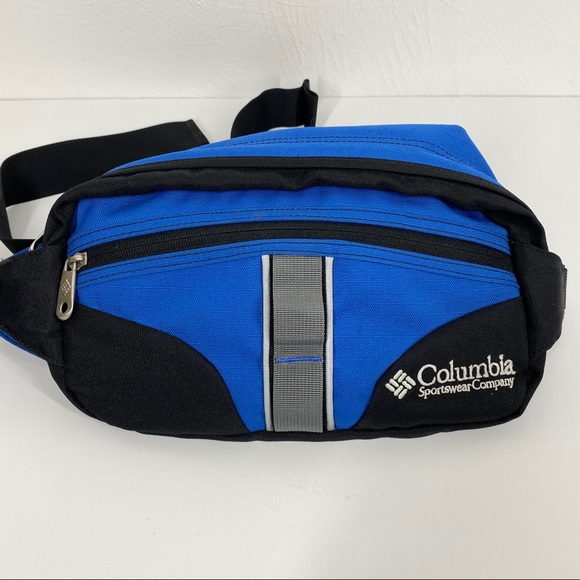 Columbia Fanny Pack Bag Waist Belted Travel Hiking
